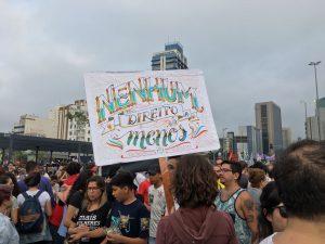 [Fotos] Protesto contra Bolsonaro em São Paulo