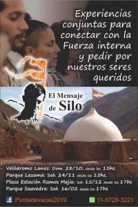 Comunidades de El Mensaje de Silo invitan a Jornada de meditación en el Velódromo de Lanús