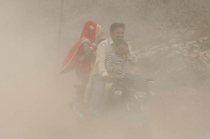 Contaminación del aire mató a más de 125 mil niños en India