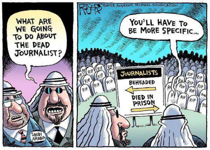 Saudi Arabia gets a friend in need – Russia