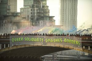 Lesbians and Gays Support the Migrants