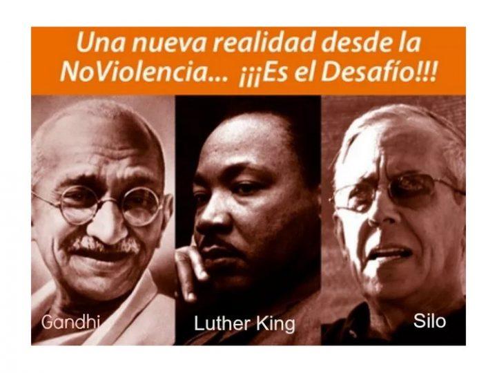 La première Marche Sud-américaine pour la Paix et la Nonviolence arrive à Lima, à l'occasion de la Journée internationale de la Nonviolence