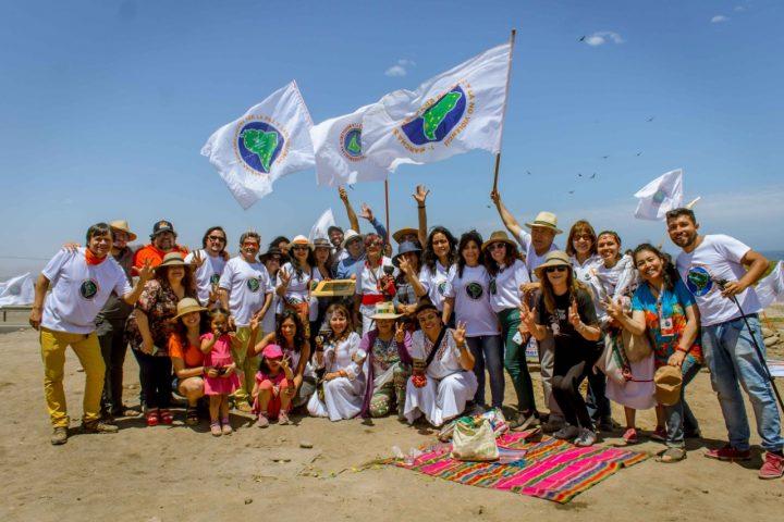 La Marche sud-américaine pour la paix et la nonviolence arrive au Chili