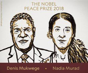 Prêmio Nobel da Paz vai para ativista yazidi e médico congolês