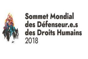 [Paris] Sommet Mondial des Défenseur.e.s des Droits Humains 2018