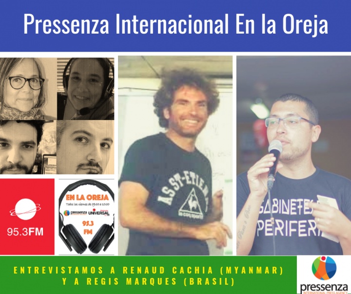 Pressenza Internacional En La Oreja 05/10/2018