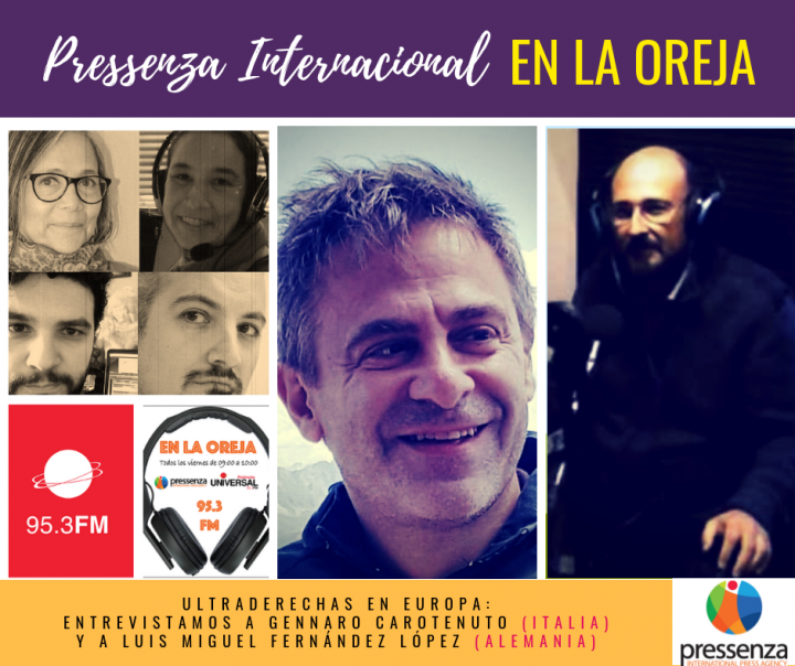 Pressenza Internacional En La Oreja 19/10/2018