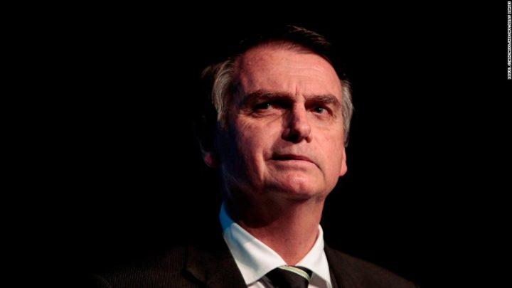 Bolsonaro en punta