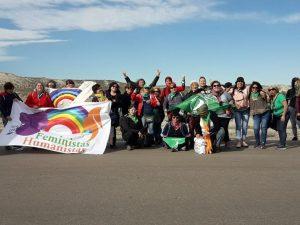 En «Regional y Popular»: «La revolución será feminista o no será!»