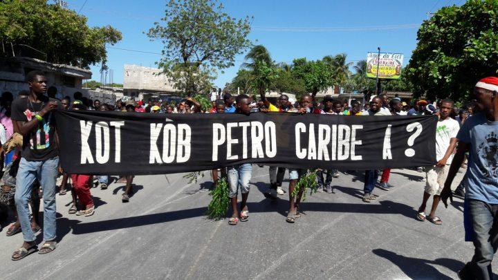 Haití: Decenas de miles de manifestantes denuncian al gobierno de Moïse por desfalco de los fondos de Petrocaribe