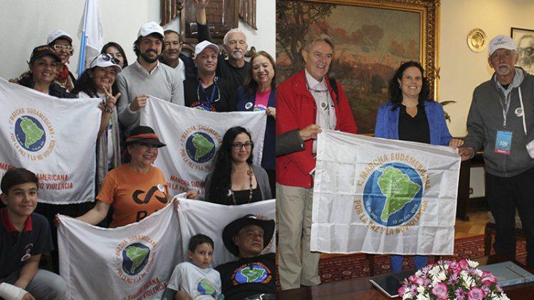 marcha sudamericana Valparaíso Maya Fernandez Jorge Sharp paz no-violencia