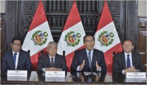 Perú: Gobierno convoca referéndum para 9 de Diciembre sobre cuatro reformas constitucionales