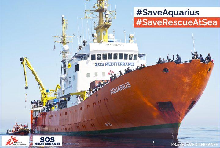 """Petizione """"Salva Aquarius e il soccorso in mare"""""""