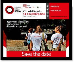 L'Aquila, torna il Festival della Partecipazione