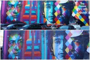 El caleidoscópico Bob Dylan de Minneapolis, EE.UU.