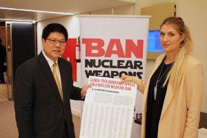 Le Cambodge est le 70e État à signer le Traité sur l'interdiction des armes nucléaires