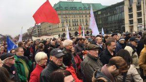 """Historischer 9. November: """"Aufstehen"""" fordert auf Kundgebung in Berlin """"neue soziale Demokratie"""""""