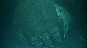 Nueva serie de fotos del ARA San Juan en el lecho marino