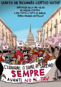 Torino, 8 Dicembre: per la terra in cui si vive, per l'acqua senza la quale non si vive