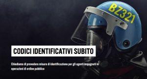 Amnesty lancia campagna per i codici identificativi delle forze di polizia