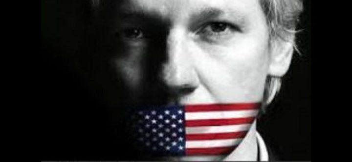 Julian Assanges Kreuzigung