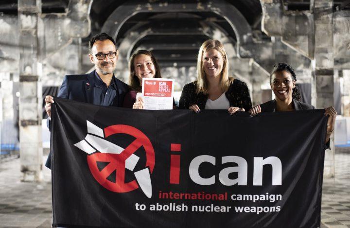 ICAN ha lanciato a Madrid il nuovo appello delle città a sostegno del Trattato di Proibizione delle Armi Nucleari