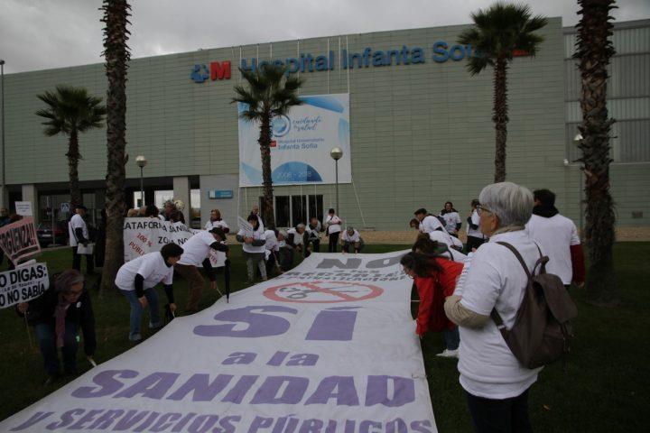 La 74ª Marea Blanca sigue reclamando sanidad 100% pública