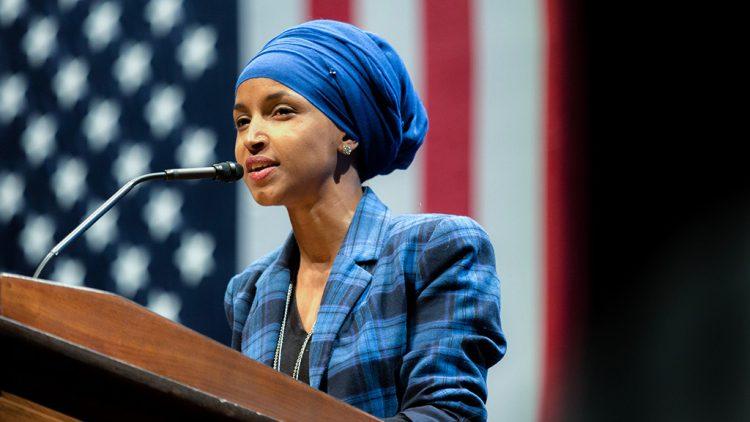 Ilhan Omar fordert Biden auf, Trumps Abkommen mit dem Nahen Osten rückgängig zu machen