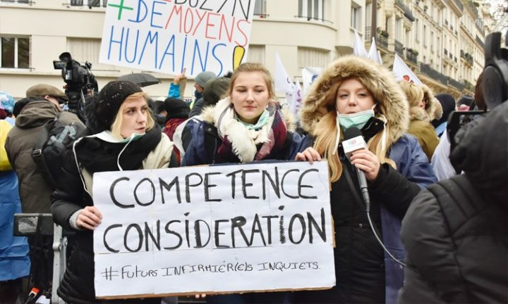 Enfermeras enojadas: «Estamos excluidas del sistema de salud»