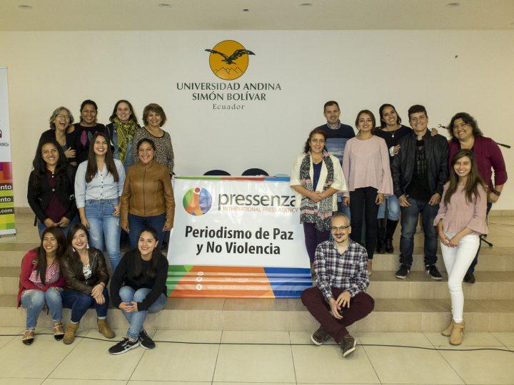 Journées internationales du journalisme axées sur la Paix et la Nonviolence