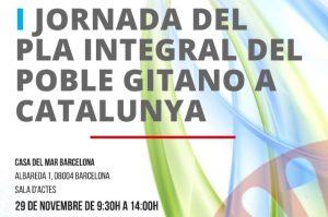 Primera Jornada del Plan Integral del Pueblo Gitano de Cataluña