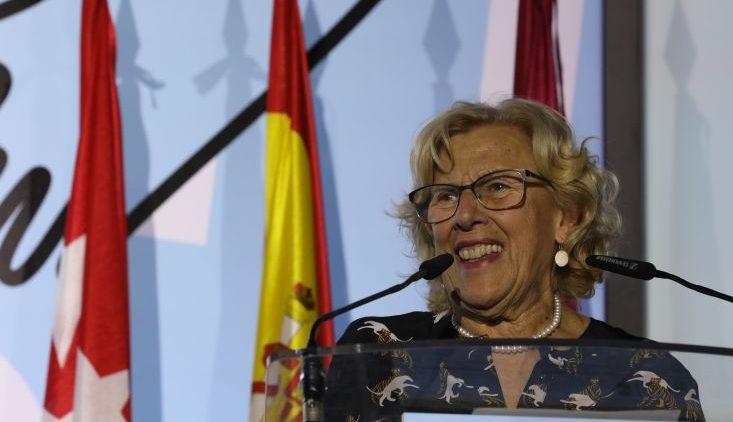 Manuela Carmena, sindaca di Madrid