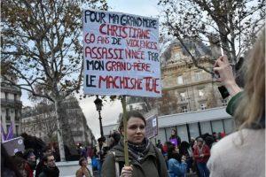 Marcha contra la violencia sexual y de género
