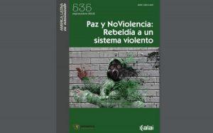 'Paix et nonviolence : rébellion contre le système violent', l'ALAI et Pressenza co-éditent la revue AmLatina pour célébrer le dixième anniversaire de Pressenza