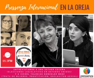 Pressenza Internacional En La Oreja 09/11/2018