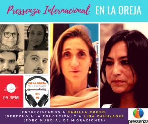 Pressenza Internacional En La Oreja, 16/11/2018