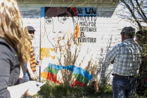 Rafa Nahuel: un homenaje pintado