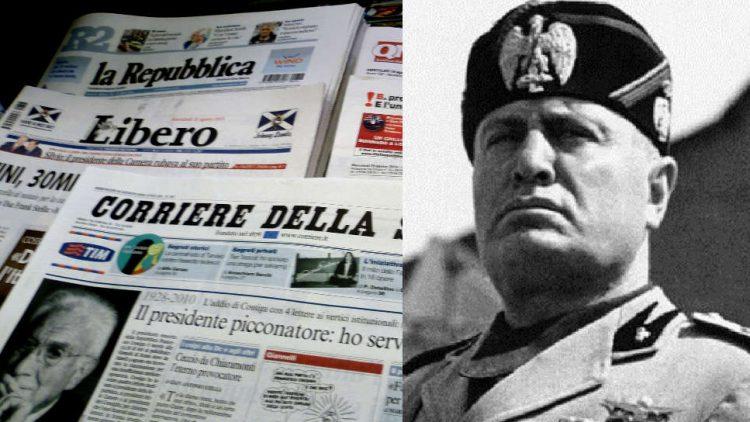 stampa e libertà d'espressione