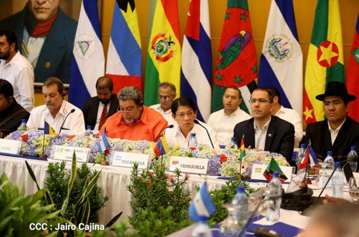 XVII reunión del Consejo Político del ALBA-TCP concluyó con lectura de una declaratoria