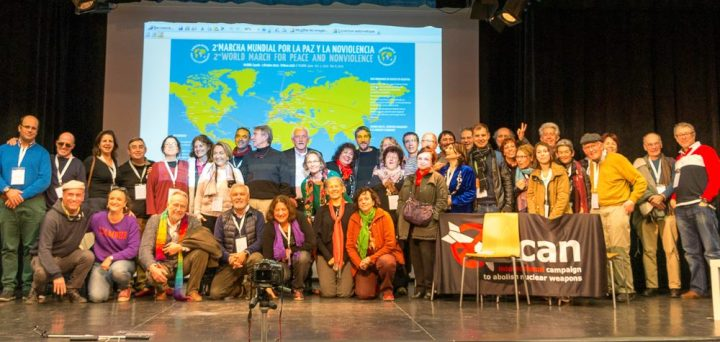 Official launch of the 2nd World March for Peace and Nonviolence in Madrid