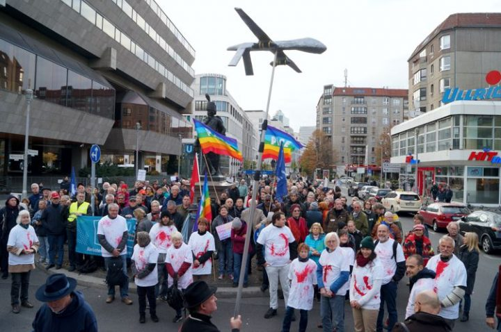 Peace and disarmament on the streets of Germany