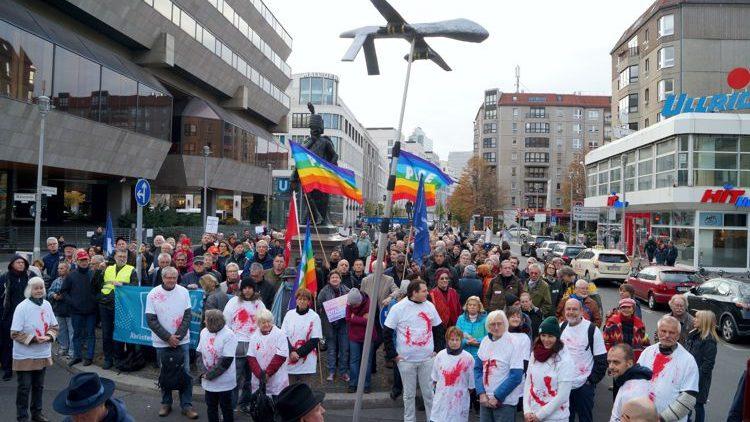 Paix et désarmement dans les rues d'Allemagne