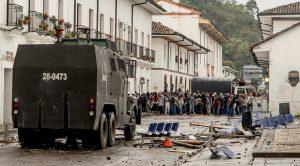Colombia: Represión contra el campamento estudiantil de la Universidad del Cauca