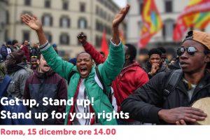 La Questura di Roma vieta la manifestazione GET UP, STAND UP! del 15 dicembre