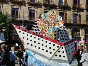 Barcelona en marxa per l'emergència climàtica