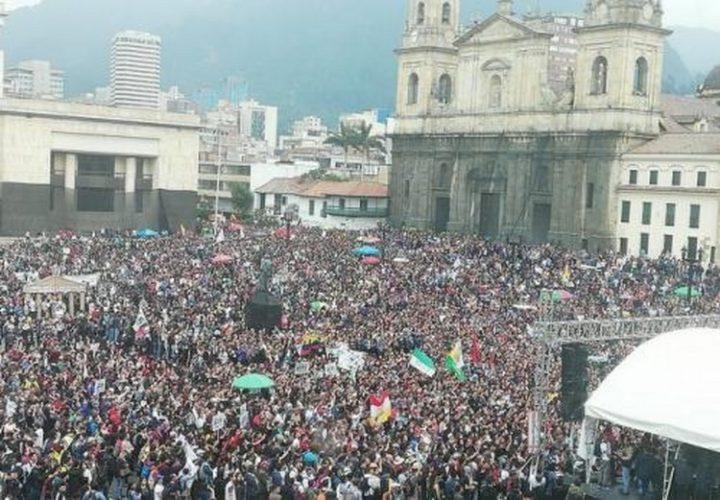 Colombie : Les étudiants dans la rue