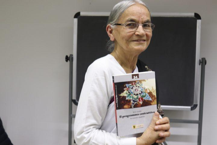 A Roma 3 Radha Batt, attivista gandhiana: agire per costruire