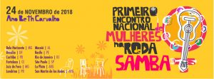 Evento reúne grandes mulheres do samba! Confira a programação
