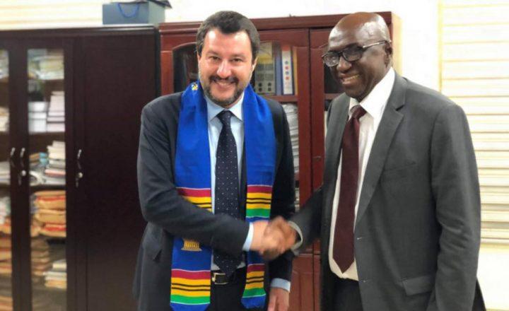 Ma Salvini in Ghana cosa ci è andato a fare?