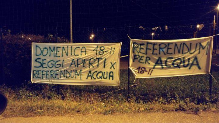 Referendum sull'acqua a Brescia, un successo dei cittadini